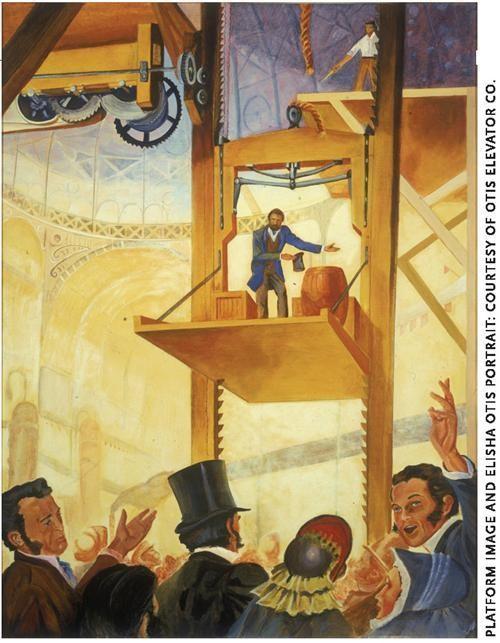 انقلاب صنعتی آسانسور