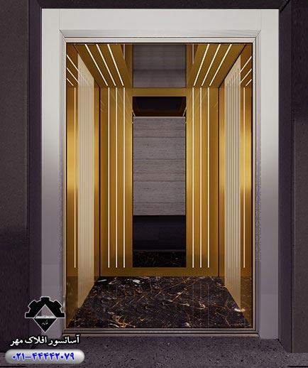 کابین آسانسور مدل SALI