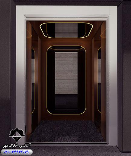 کابین آسانسور مدل SEVILLA