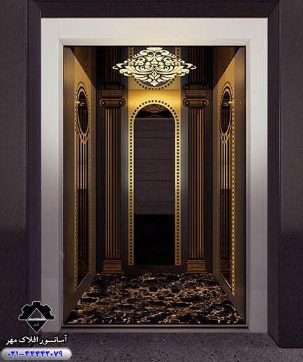 کابین آسانسور مدل MILANO