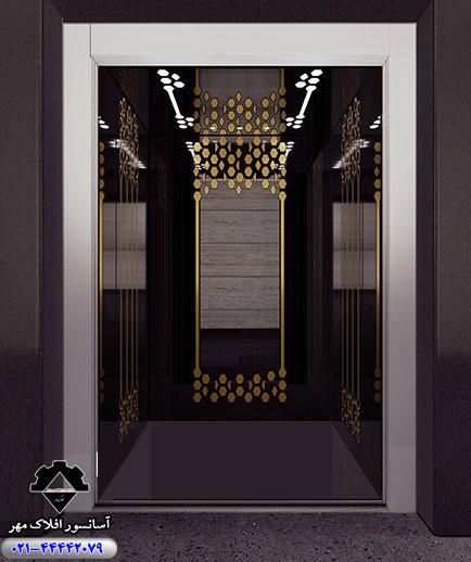 کابین آسانسور مدل SOLID