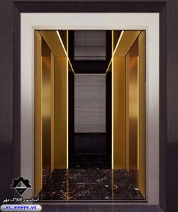 کابین آسانسور مدل MONTA