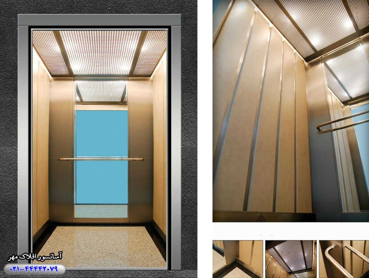 کابین آسانسور مدل DONNA