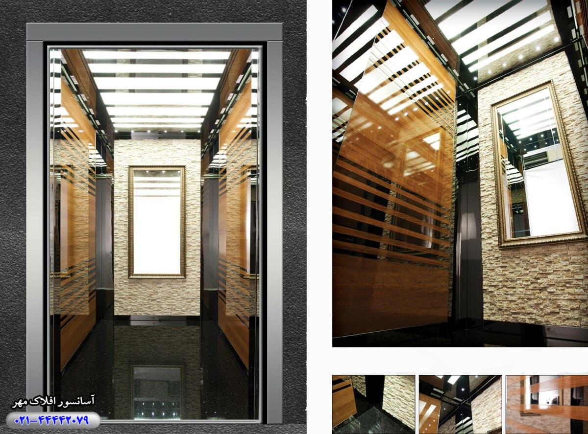 کابین آسانسور مدل ECE