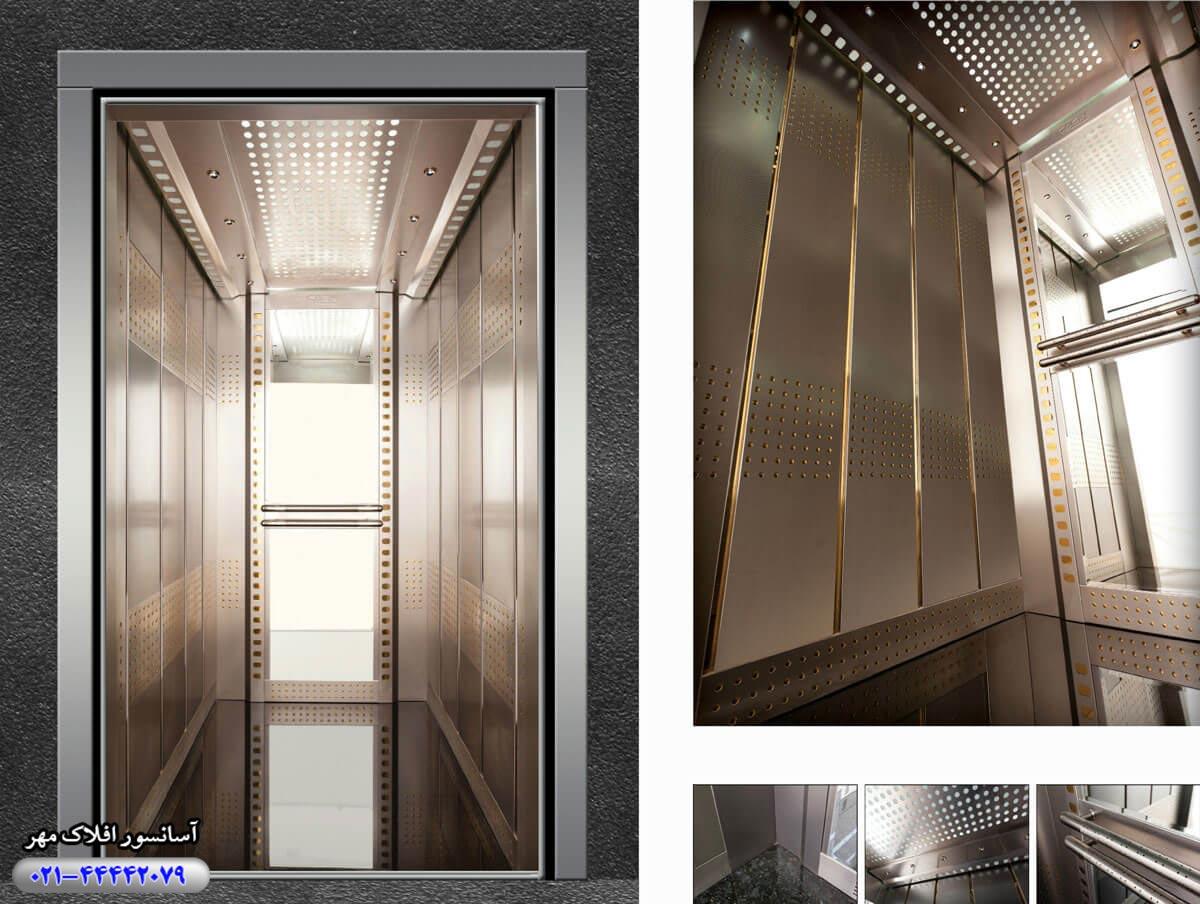 کابین آسانسور مدل EFE