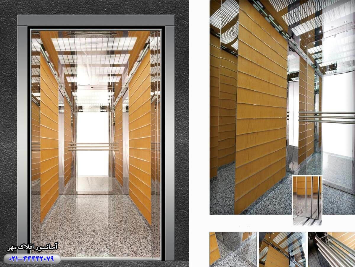 کابین آسانسور مدل EYLUL