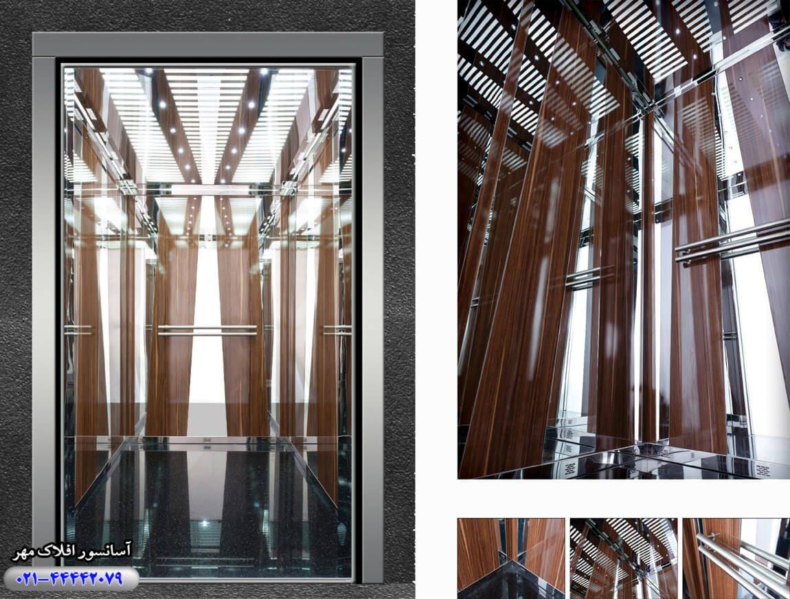 کابین آسانسور مدل FURKAN