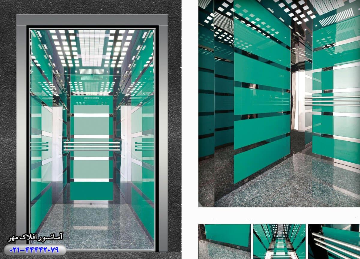 کابین آسانسور مدل KAPLAMA