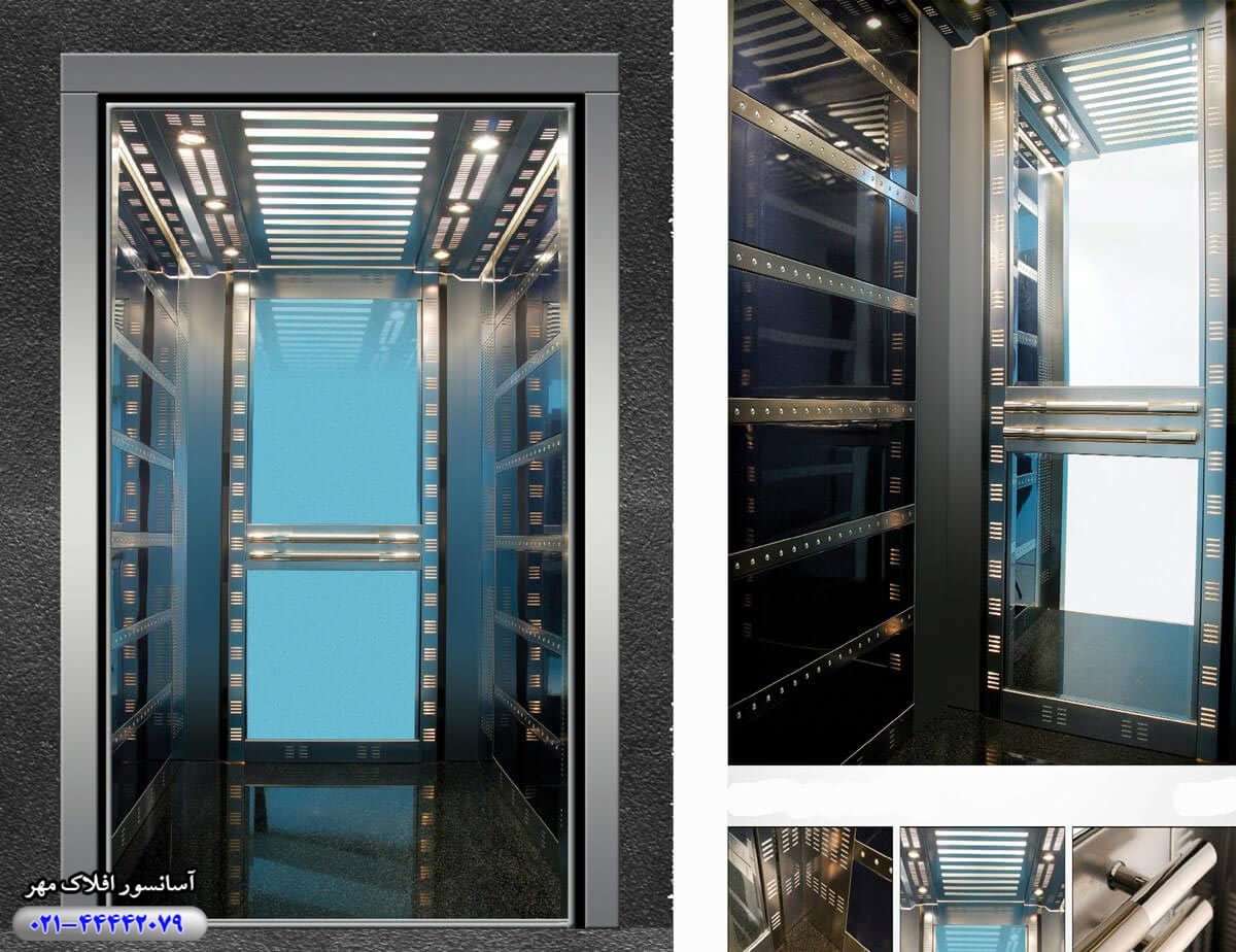 کابین آسانسور مدل LAILA