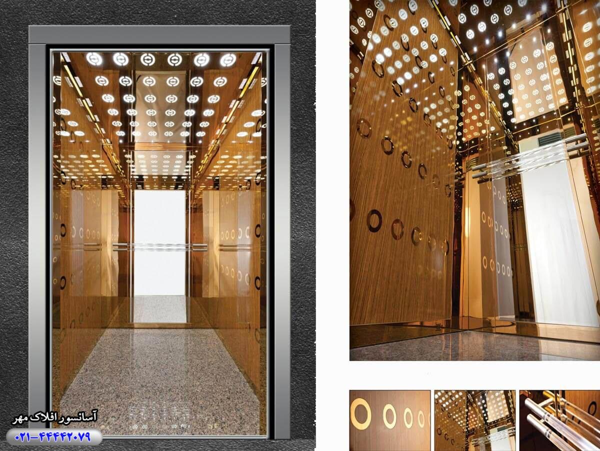 کابین آسانسور مدل UTKU