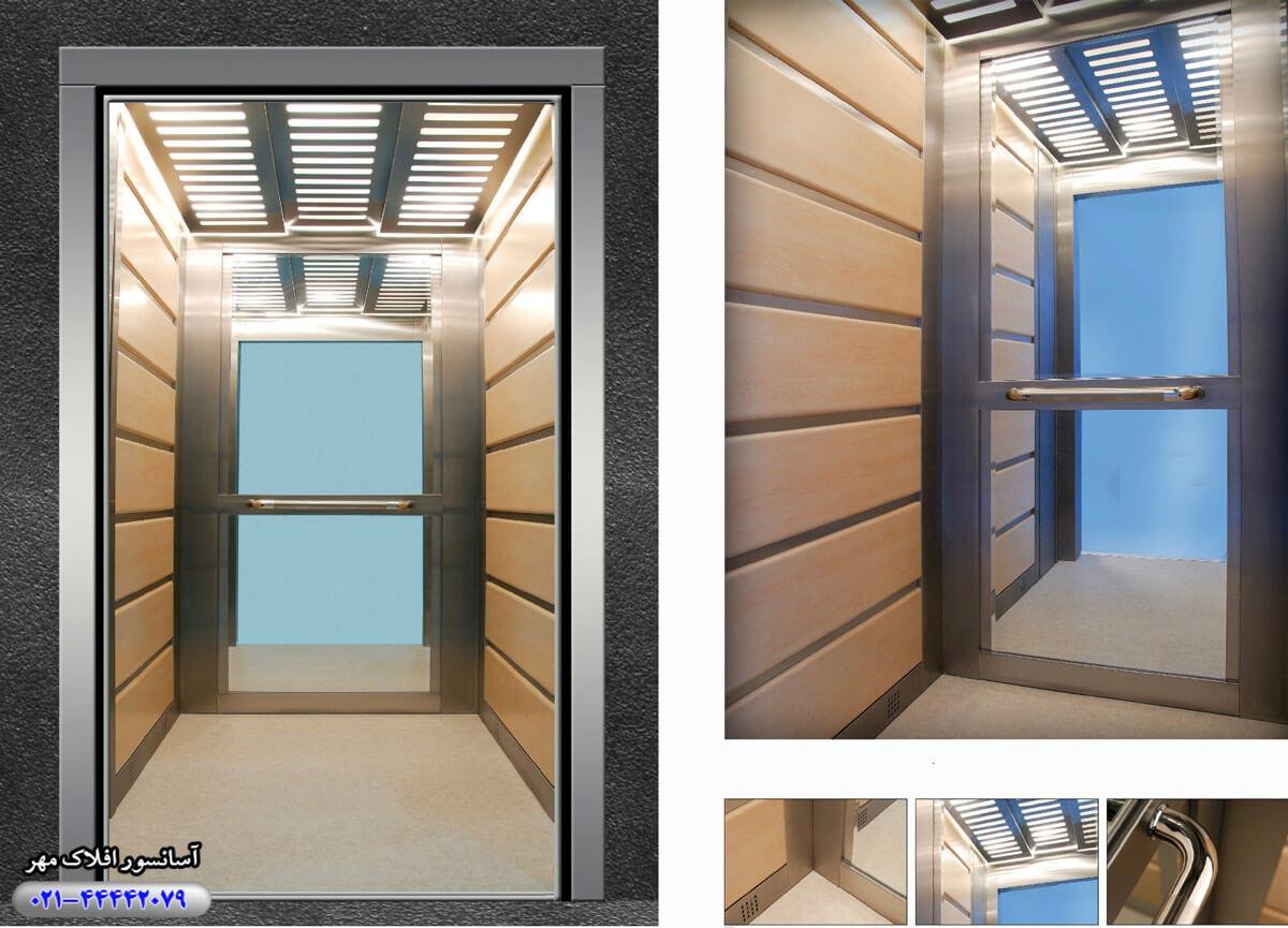 کابین آسانسور مدل VERA