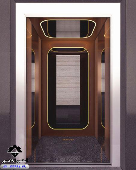 کابین آسانسور مدل LIATO