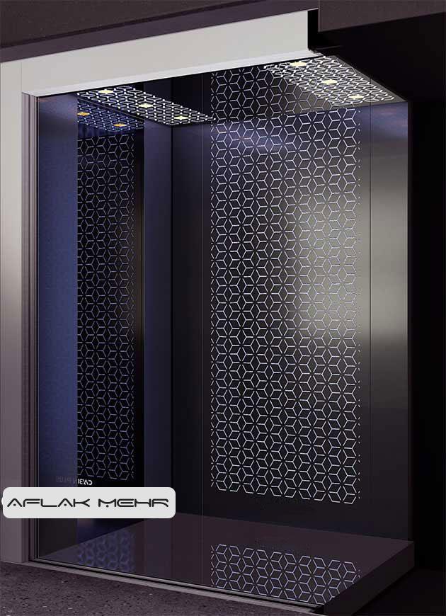 کابین آسانسور مدل solid-2