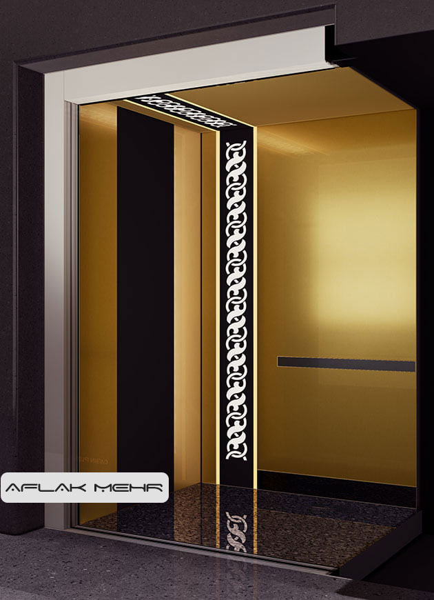 کابین آسانسور مدل spring2