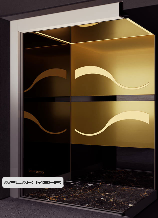 کابین آسانسور مدل monta2