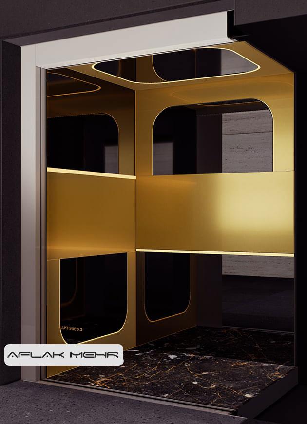 کابین آسانسور مدل sevilla-2