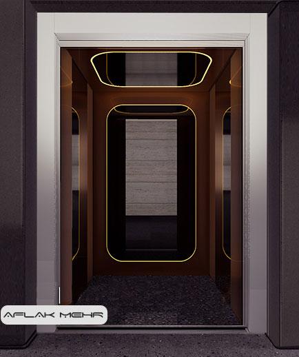 کابین آسانسور مدل -3sevilla