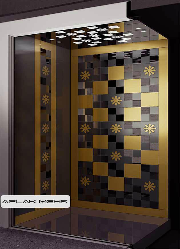 کابین آسانسور مدل spring-3